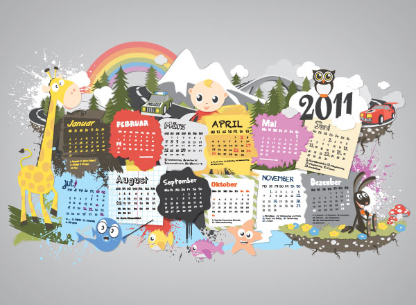 A3Kalender2011